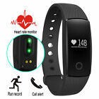 ID107 Smartband Heart Rate Monitor Fitness Flex Bracelet Tracker For IOS Android