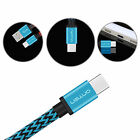 Braid USB 3.1 Type C Male to USB 3.0 Type A Male Charging Sync Data Cable Cord