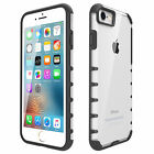 Ultra-Thin Soft Rubber Bumper+Hard PC Back Case Cover For Apple iPhone 7 7Plus