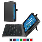 For AT&T Trek 2 HD (Model 6461A) 8 inch Removable Bluetooth Keyboard Case Cover