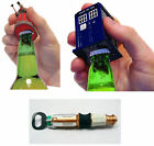 Dr Who - Bottle Opener With Sound Effects - New Official Tardis/Dalek/Sonic