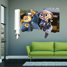 Lot Zootopia Removable Wall Stickers Decals Kids Nursery Decor Art Mural Z111