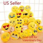 Emoji Pillow Soft Yellow Round Cushion Emotion Stuffed Plush Toy Doll Poop 13''