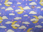 SKY/ CLOUDS AND MOONS- men's OR bouffanat--SCRUB HAT/ MEDICAL / SURGICAL