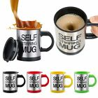 Внешний вид - Self Stirring Mug Coffee Cup Auto Mixer Drink Tea Home Insulated Stainless 400ml