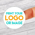 Personalised Circle Colour Stickers/Wedding/kids/address lot of templates to use