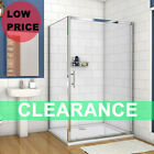 Aica Sliding Shower Enclosure And Tray Door Side Panel Walk In Screen Cubicle