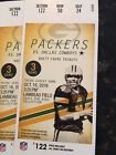 Green Bay Packers vs Cowboys Tickets 10 16 16 32 YD LINE!