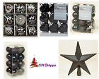Christmas Decorations - The Luxury Black Selection Christmas Decorations