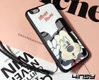 Cartoon Mickey & Minnie silicone Hard Case Cover For iPhone 7 /7 Plus