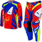 "UFO 2017 40th Anniversary Race Kit MX ENDURO Pants 38"" Jersey XX- Large Red Blue"