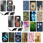 For Samsung Galaxy S6 G920 Hybrid Combo Holster Kickstand Tough Armor Cover Case