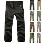Men Military Tactical Combat  Camo Pants Hiking Camping Outdoor Sports Trousers
