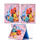 New Pokemon Go Synthetic Leather Case Cover for Apple iPad Samsung Galaxy Tablet