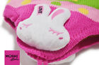 Baby Kids Girls Winter Pink Wool Rabbit Hat Scarf set by Moshi Babies 1 - 4 yrs