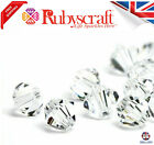 Swarovski 5328 Elements CRYSTAL CLEAR Beads Bicones 2.5mm,3mm,4,5,6mm,8mm,10mm
