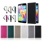 Leather Card Holder Wallet Flip Case Cover for Samsung Galaxy S5 V i9600 G900