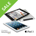 Apple iPad 3 | 16GB 32GB 64GB | AT&T, Verizon or WiFi Tablet (Black or White)