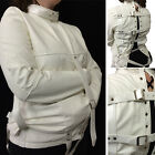 Spooky White Haunted House Straight Jacket Halloween Costume Unisex S/M or L/XL