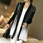 Women Casual Long Sleeve Knitted Cardigan Loose Sweater Outwear Coat Sweater Hot