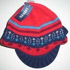 OLD NAVY Boys Hat Size 2T 3T FAIR ISLE Sweater Knit Brimmed Beanie Toddler NEW
