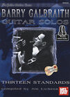 Barry Galbraith Guitar Solos Volume 1 TAB Music Book with Audio 13 Standards