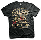 GAS MONKEY GARAGE OFFICIAL GO BIG OR GO HOME PRINTED T-SHIRT