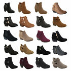 Внешний вид - New Womens High Heels Booties Ankle Boots fashion low Shoes Wedge Size Pumps sz
