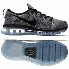 Nike WMNS Flyknit Air Max 620659-105 White/Black Oreo Women's Running Shoes