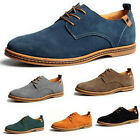 new Suede European style leather Shoes Men's oxfords Casual Multi Size Fashion