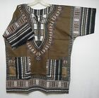 Dashiki Caftan African Mens Women Shirt Tribal Rasta Hippie Blouse Tops One Size