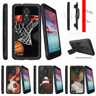 For  ZTE Z MAX PRO | ZMAX Pro Carry Z981 Holster Clip Stand Case Sports