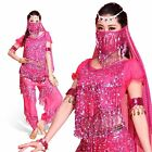 Women Girl Belly Dance Dress Costumes Pant Top Show Clothes Adults Outfits