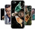 Conor McGregor MMA Irish Fighter Flag Rubber Phone Cover Case fits Apple iPhone