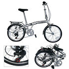 steel frame folding bike road mountain Bicycle shimano 7 speed (Disc-brake)