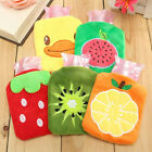 Home Necessary Outdoor Rubber HOT Water Bottle Bag Warm Relaxing Heat&Cold AU