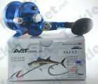 Avet SXJ5.3 Blue Lever Drag Reel! FREE BRAID 150YDS W/PURCHASE!