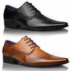 Kyпить Mens New Italian Pointed Toe Leather Lined Wedding Formal Lace Up Shoes SIZES UK на еВаy.соm