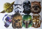 Official Disney Classic Star Wars Face Masks Great 4 Parties 8 different designs £3.5 GBP on eBay