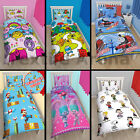 Disney Children Kids Single Duvet Cover Christmas Gift Character Bedding set New