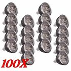 LOT 100 LED Spotlight Bulb Lmap MR16 4W 12V Warm White Spot Light Energy Saving