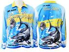 WILSON Live Fibre TOURNAMENT Long Sleeve FISHING SHIRT Choose Size UPF 25+