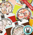 70 Japanese realistic Cat Animal Toy sticker flakes Seal Cute Kawaii Stationery