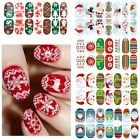 1 Set Colorful Beauty 3D Decals Hot Tips Stickers Nail Art Christmas