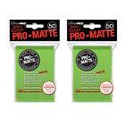 Ultra Pro Matte Card Sleeves 50x2-Deck Protector Standard Size- Pokemon MTG