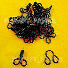 Hooks And Eyes Black Noir Zwart Colour Assorted Sizes Adjustable Fastener Extend