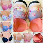 1 Bra 3 - 6 Bras Women Power Push up MAX Extreme LIFT ADD 2 CUP Size 1290 32-38C