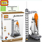 Architecture Space Laucnching center gift toy souvenir LOZ iBLOCK Lego Nano xmas