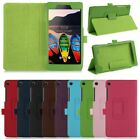 """Magnetic Fold PU Leather Case Cover Stand for 7"""" Lenovo TB3 730F/M Tablet"""
