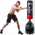 5.5ft Free Standing Boxing Punch Bag Stand Martial Arts Punching Training Gloves